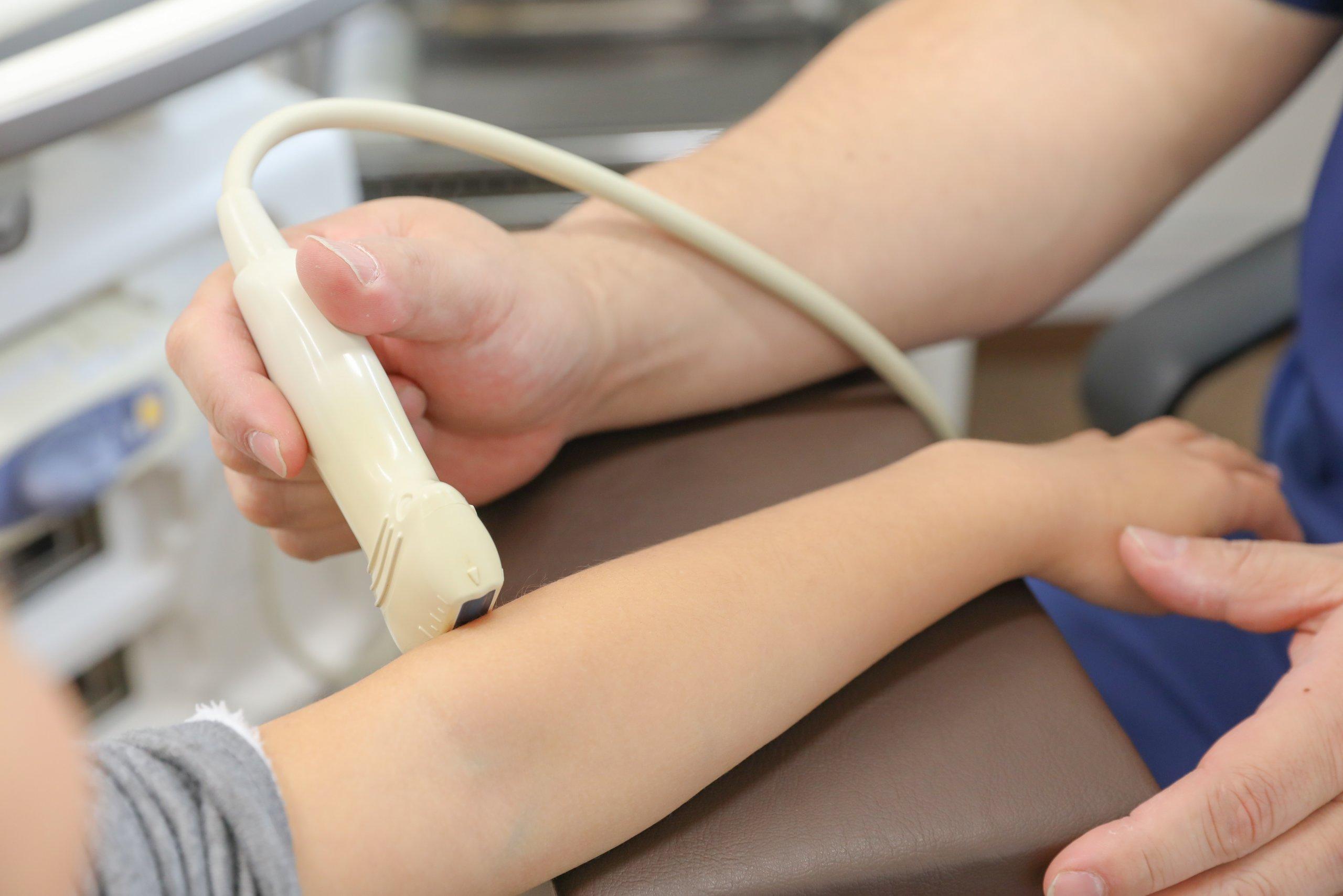 長年の経験・知識と<br>超音波診断装置(エコー)による正確な診断